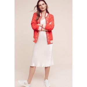 Arabella Embroidered Bomber Anthropologie
